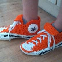 Chucks orange